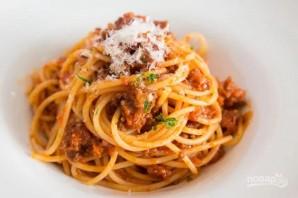 Спагетти с мясным соусом - фото шаг 4