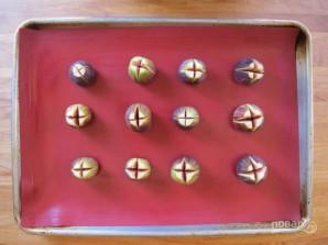Инжир, фаршированный сыром - фото шаг 1