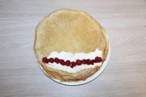 Блинный торт на Масленицу - фото шаг 11