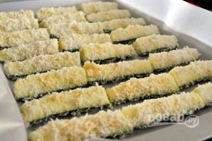 Хрустящие цукини в духовке - фото шаг 4