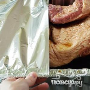 Запеченная говяжья грудинка - фото шаг 13
