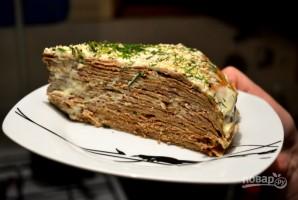 Очень простой печеночный торт - фото шаг 7