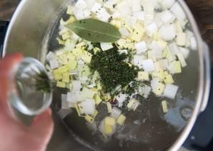 Гороховый суп-пюре с сухариками - фото шаг 4