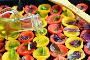 Вяленые помидоры в духовке (на зиму) - фото шаг 3