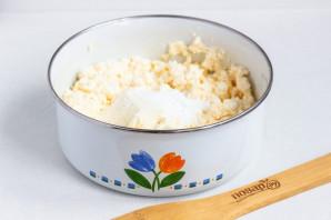 Сырники из творога с сыром - фото шаг 3