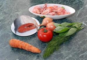 Рыбный суп с морепродуктами - фото шаг 1