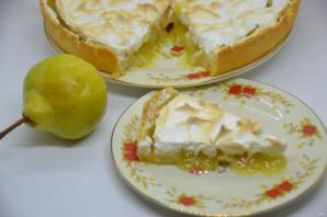 Грушевый пирог с карамельной заливкой - фото шаг 19