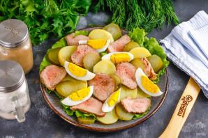 Салат с ростбифом - фото шаг 4