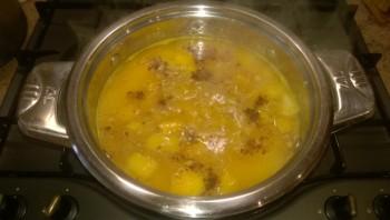 Тыквенный суп-пюре со сливками - фото шаг 5