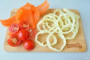 """Пицца овощная """"Для себя любимой"""" - фото шаг 5"""