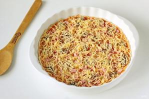 Пицца на слоеном тесте - фото шаг 6