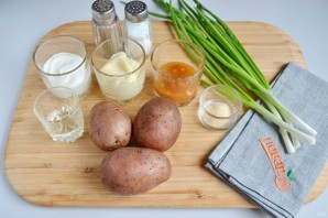 "Картофельный салат ""Баффало"" - фото шаг 1"