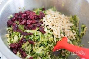 Тёплый салат с козьим сыром - фото шаг 3