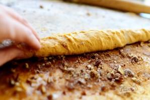 Тыквенные булочки с корицей и орехами - фото шаг 5