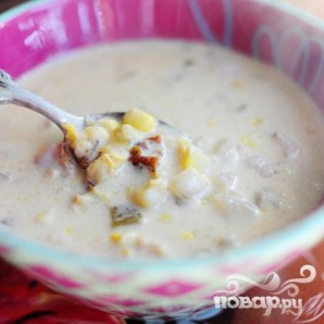 Кукурузный суп с чили - фото шаг 21
