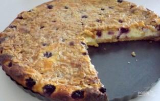 Творожный пирог с хрустящей корочкой - фото шаг 9