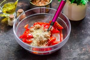 Салат с тунцом и фунчозой - фото шаг 6