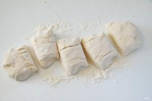 Лепешки со шпинатом и грибами - фото шаг 10