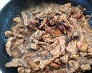 Салат с телятиной и рукколой - фото шаг 4