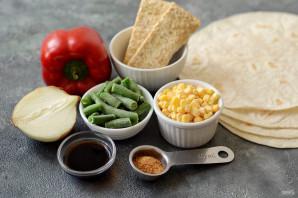 Вегетарианский фахитос - фото шаг 1