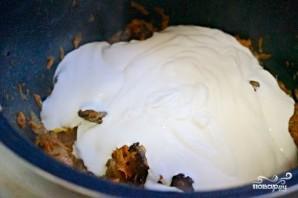 Куриная печень под соусом - фото шаг 6