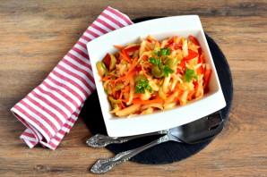 Салат с пекинской капустой и оливками - фото шаг 6