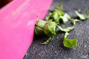 Новогодние корзиночки из бекона с дыней - фото шаг 4