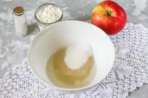 Песочное печенье с яблоками - фото шаг 2