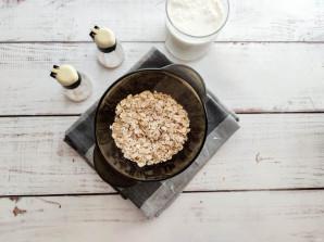 Запаренная овсянка на завтрак для похудения - фото шаг 1