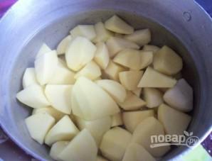 Картофельные пирожки с начинкой - фото шаг 1