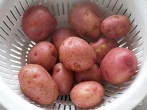 Запеченная в духовке картошка - фото шаг 3
