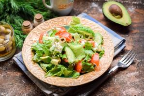 Салат с авокадо и оливками - фото шаг 7
