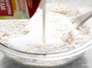 Выпечка с ветчиной и сыром - фото шаг 2