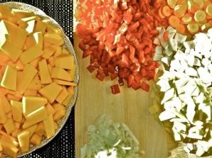 Хрустящий суп из тыквы с сухариками - фото шаг 2