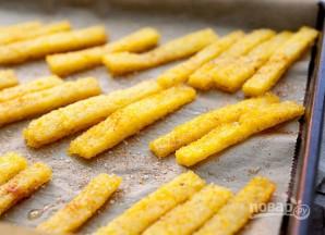 Полента с сырным соусом - фото шаг 8