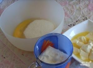 Тесто для сочников с творогом - фото шаг 1
