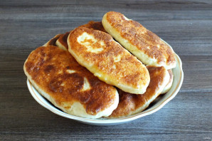 """Тонкие пирожки с картошкой """"Крестьянские"""" - фото шаг 15"""