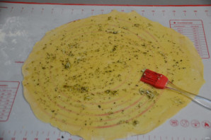 Куриный суп с чесночными галушками - фото шаг 7