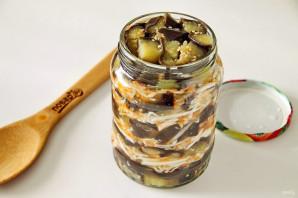 Царский салат из баклажанов и капусты - фото шаг 8