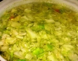 Суп с жареным мясом - фото шаг 4