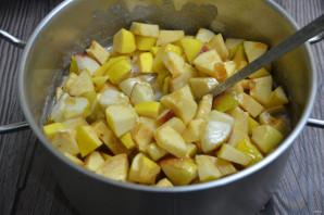 Варенье из айвы с яблоками - фото шаг 6