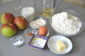 Пирожки с яблоками на кефире - фото шаг 1