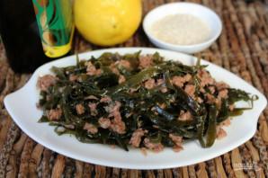Салат из морепродуктов с морской капустой - фото шаг 3