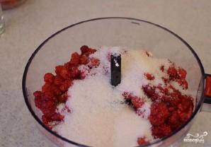 Сметанный торт с малиной - фото шаг 3
