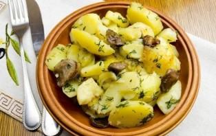 Маслята с картошкой в мультиварке - фото шаг 7