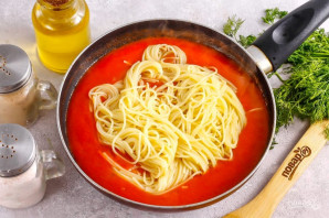 Простой соус для макарон