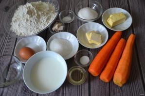 Дрожжевой пирог с морковью - фото шаг 1