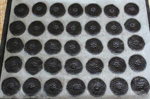 """Шоколадное печенье """"Орео"""" - фото шаг 7"""