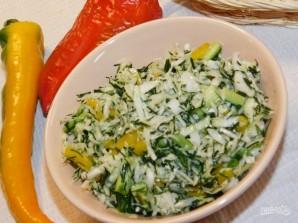 Хрустящий салат с капустой - фото шаг 4