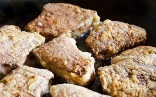 Печень говяжья в сметане - фото шаг 6